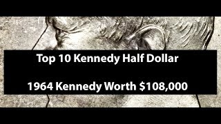 Top 10 Most Valuable Kennedy Half Dollar - Rare Kennedy Half Dollar Value