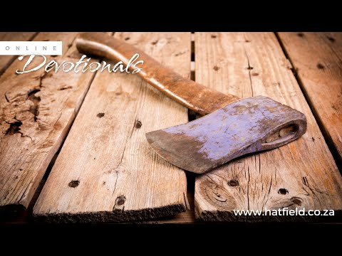 Pastor Louis Kotz  God cares about lost axe-heads