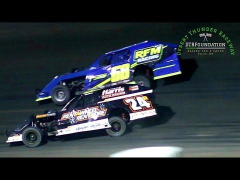 Desert Thunder Raceway IMCA Modified Main Event 8/28/21 - dirt track racing video image