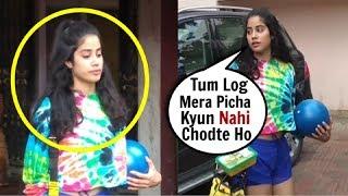 Jhanvi Kapoor RUDE Behavior With Media After Workout At Gym