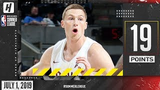 Dylan Windler Full Cavaliers Debut Highlights vs Spurs (2019.07.01) Summer League - 19 Points!
