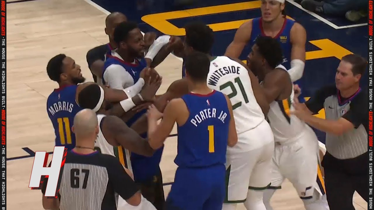 Hassan Whiteside & JaMychal Green HEATED MOMENT 👀 Both EJECTED From the Game