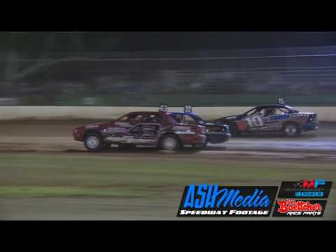 Street Stocks: 2017 Australian Title Heat Race of the Weekend - Kingaroy Speedway - dirt track racing video image