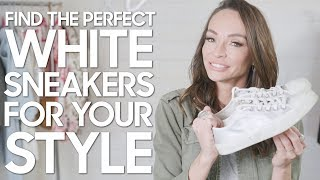 White sneakers to Match Your Style
