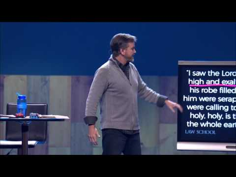 If there's one word to describe God, it's holy. (Tim Harlow at Parkview Church)