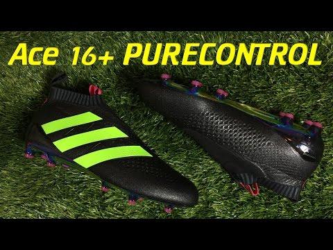 Laceless Adidas ACE 16+ PURECONTROL Black/Solar Green/Shock Pink - Review + On Feet - UCUU3lMXc6iDrQw4eZen8COQ