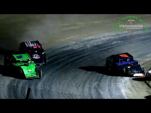 Desert Thunder Raceway IMCA Modified Main Event 8/6/21 - dirt track racing video image