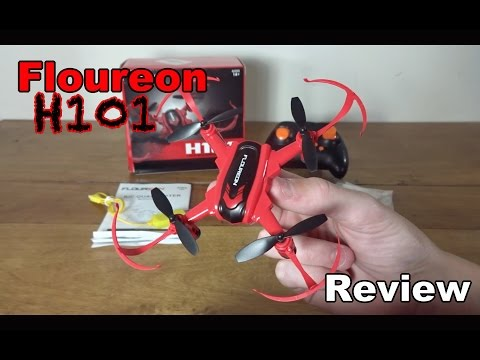 Floureon H101 Review and Flight