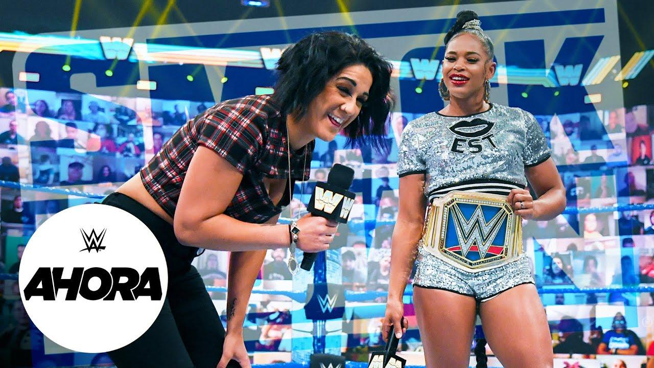 ESTA NOCHE en #SMACKDOWN: WWE Ahora, May 14, 2021