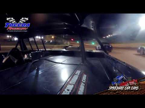 #33 Brady Hunt - Stock 8 - 10-23-21 Toccoa Raceway - In-Car Camera - dirt track racing video image
