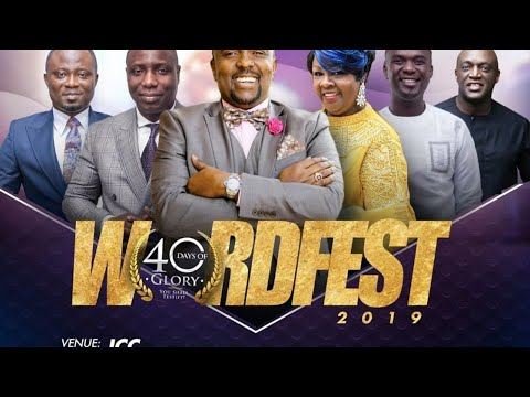 Jubilee Christian Church Live (40 Days Of Glory - Day 35) - 3rd December 2019 (#WordFest2019)