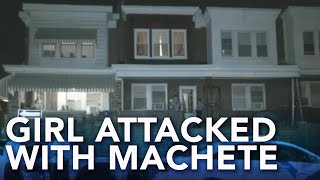 3-year-old girl attacked with machete in Philadelphia; mother arrested