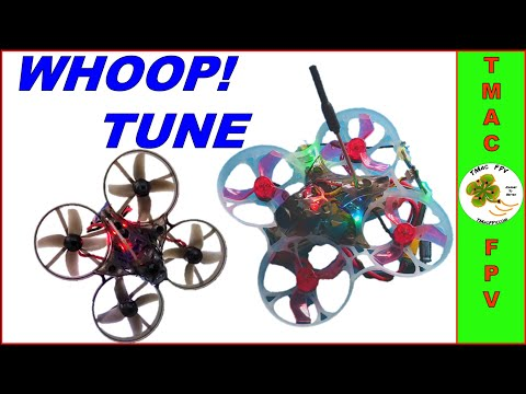 MICRO FPV DRONE TUNING (WHOOP EDITION!) - UCwCM9ac31ioNZahI2dOMUHw