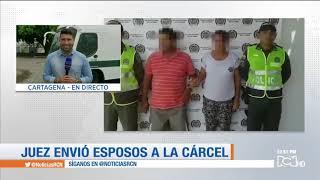 Pareja capturada por presuntamente abusar de tres menores