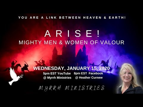 ARISE! Mighty Men & Women Of Valour!!  4 Faces of Redemption/ 4 Living Creatures/ Your Destiny