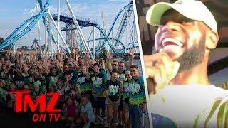Taco Tuesday Featuring LeBron James & Chrissy Teigen | TMZ TV