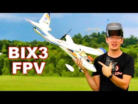 Bix3 FPV First RC Plane FPV Flight - TheRcSaylors - UCYWhRC3xtD_acDIZdr53huA