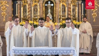 Dreifache Priesterweihe in Benediktbeuern