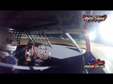 #25 Chuck Becker - Pure Stock - 8-27-2021 Dallas County Speedway - In Car Camera - dirt track racing video image