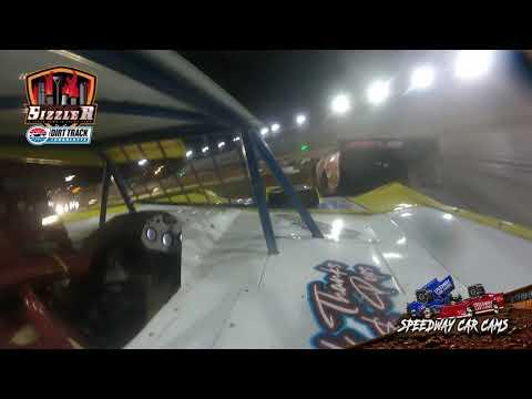 #99 Shan Oreo Thomas - Topless Late Model - Carolina Sizzler 7-18-21 - In-Car Camera - dirt track racing video image