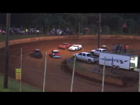 Stock V8 at Winder Barrow Speedway July 10th 2021 - dirt track racing video image
