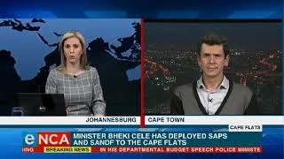 SANDF deployed to Cape Flats
