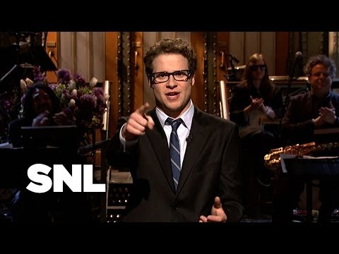 Seth Rogen Monologue at Saturday Night Live