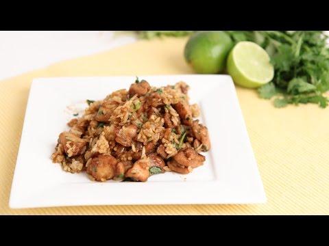 Cilantro & Lime Chicken & Rice Recipe - Laura Vitale - Laura in the Kitchen Episode 814 - UCNbngWUqL2eqRw12yAwcICg
