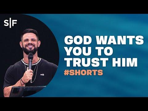 God Wants You To Trust Him #Shorts  Steven Furtick