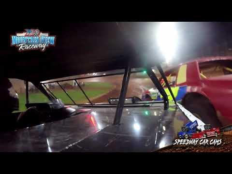 #104 Chris Williams - Thunder - Mountain View Raceway 5-15-21 - InCar Camera - dirt track racing video image