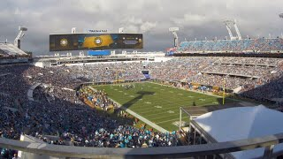 Fans make their way into TIAA Bank Field for Jaguars' preseason home opener