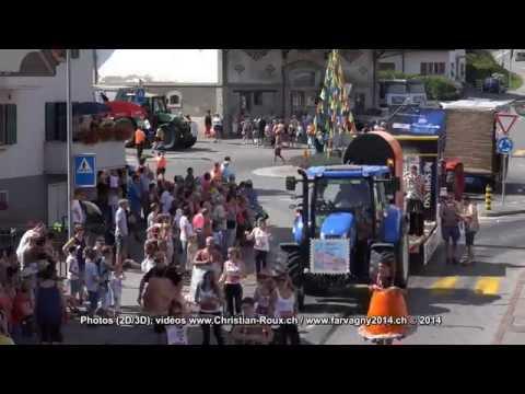 Farvagny 2014, Giron cantonal de jeunesses, cortège part 1 (filmé en UHD) - UCEFTC4lgqM1ervTHCCUFQ2Q