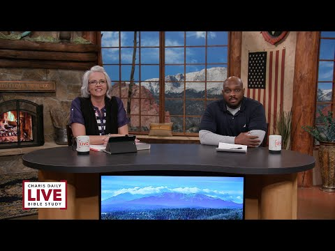 Charis Daily Live Bible Study: Lift Up a Standard - Ricky Burge - April 5, 2021
