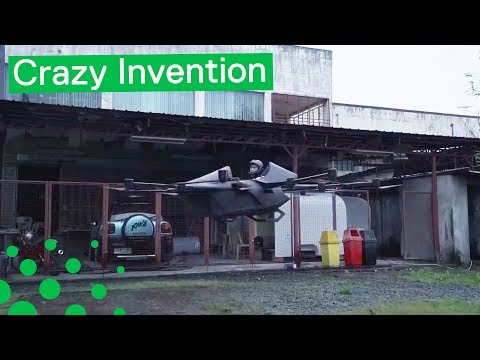Eccentric Inventor Creates his own Flying Drone Car - UCzSSoloGEz10HALUAbYhngQ