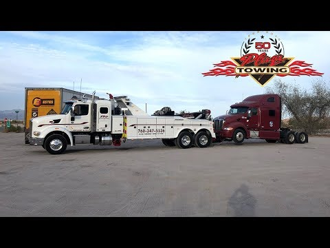 Unlocking an Abandoned Semi & Towing It Away For CHP - UCE1oiL2dYdPv8sOvqge3MiA