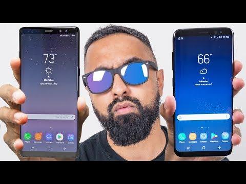 Samsung Galaxy Note 8 vs S8 Plus - UCIrrRLyFMVmmL9NDAU2obJA
