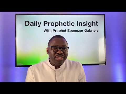 Prophetic Insight - January 30, 2021