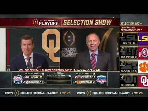CFP Selection Committee Chair Rob Mullens chats with ESPN on Selection Day (Part 1)
