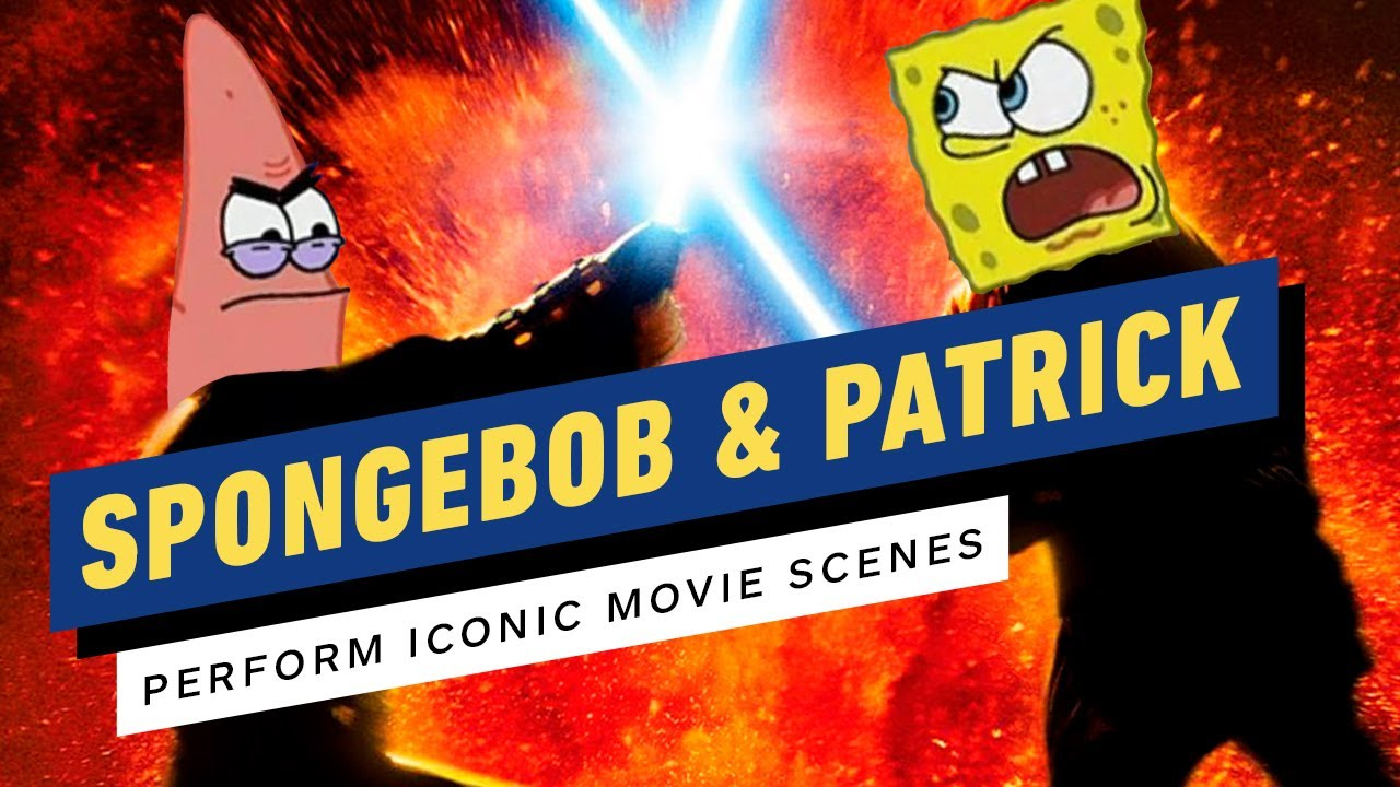 SpongeBob Cast Dubs Scenes from Revenge of the Sith, Spider-Man 2, The Lion King, & More!