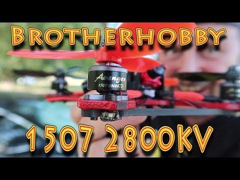 Review: Brotherhobby 1507 Avenger FPV Racing Drone Motors!!! (05.07.2018) - UC18kdQSMwpr81ZYR-QRNiDg