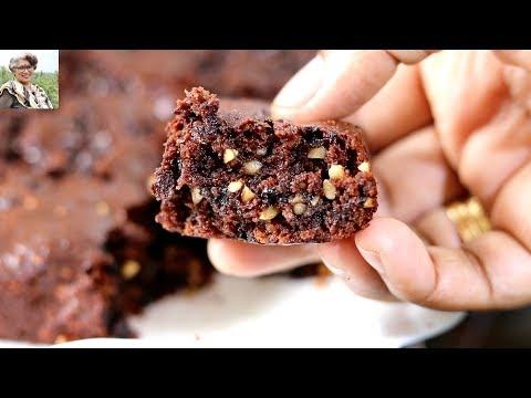 Eggless Chocolate Brownies - Healthy & Tasty | Skinny Recipes