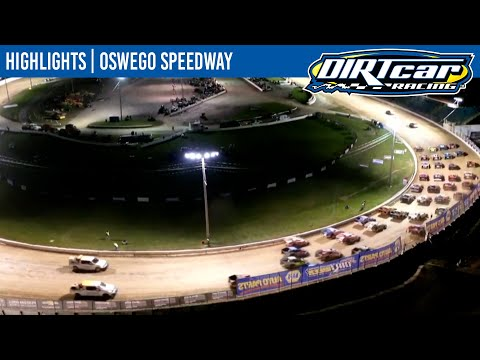 DIRTcar 358 Modifieds Oswego Speedway October 9, 2021 | HIGHLIGHTS - dirt track racing video image