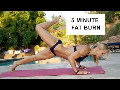 5 Minute Fat Burning Bikini Workout #89 - UCrd4Hfglr4EczsLXKdGvCLA