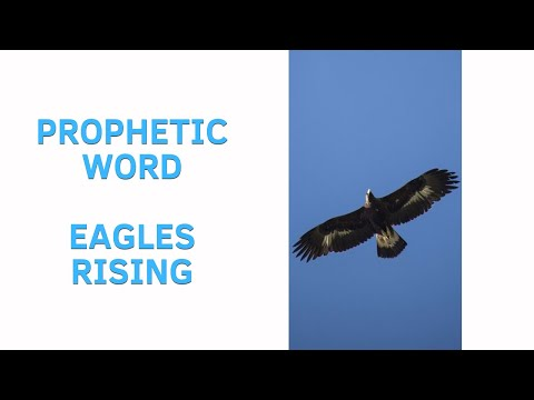 Prophetic Word: Eagles Rising