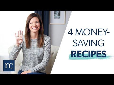 My Top 4 Money-Saving Recipes