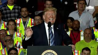 Speech: Donald Trump Addresses Energy and Manufacturing Growth in Monaca, PA - August 13, 2019