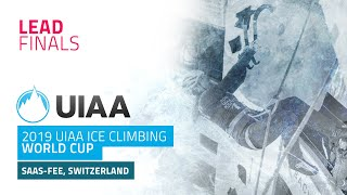 Saas Fee, Switzerland l Lead Finals l 2019 UIAA Ice Climbing World Cup