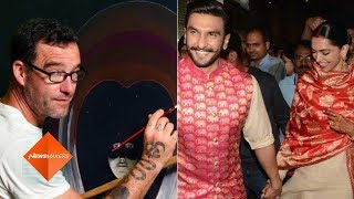 Ranveer-Deepika's Painting To Get A Twist By An Artist Robin Fletcher In An Exhibition | SpotboyE