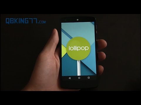 Android 5.0 Lollipop Developer Preview Review - UCbR6jJpva9VIIAHTse4C3hw
