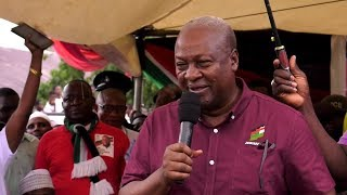 Mahama calls on Chiefs and Religious Leaders to advice Gov't on Afoko Case
